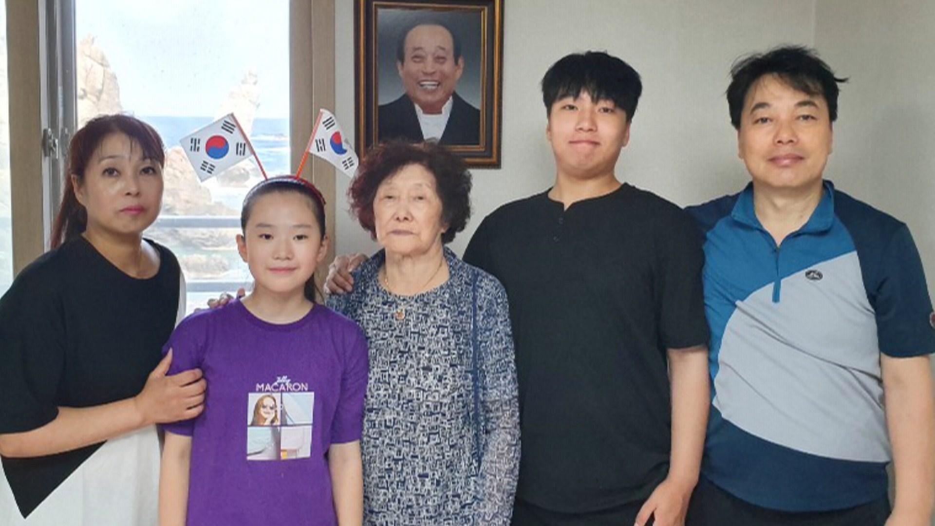 독도 유일 주민 김신열 씨 21개월 만에 돌아왔다