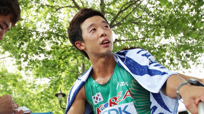경보 김현섭, 8년 만에 세계선수권 동메달 승격