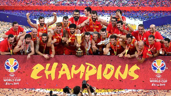 스페인, 아르헨 꺾고 농구월드컵 우승…MVP 루비오
