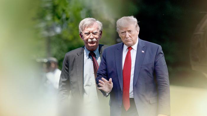 """트럼프 """"시간이 말할 것""""…'볼턴, 협상 실패론' 반박"""