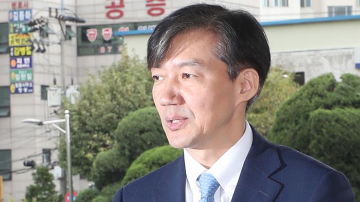 [현장연결] 조국, 의정부지검 방문…첫 '검사와의 대화'