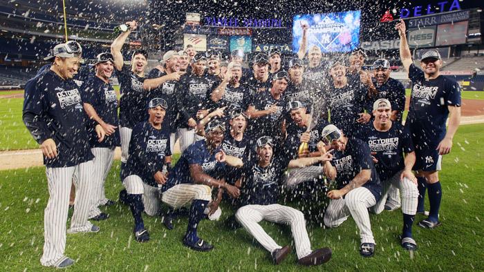 [미 프로야구] 양키스, 7년 만에 AL 동부지구 우승