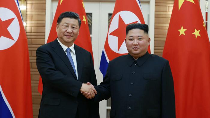 김정은, 시진핑에 답전…