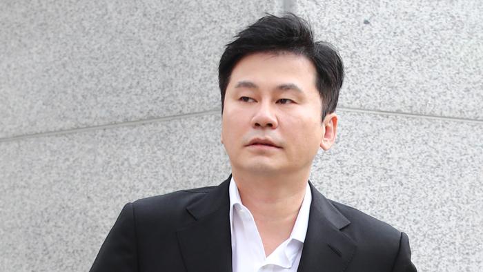 양현석 '성매매 알선' 무혐의…불기소 송치