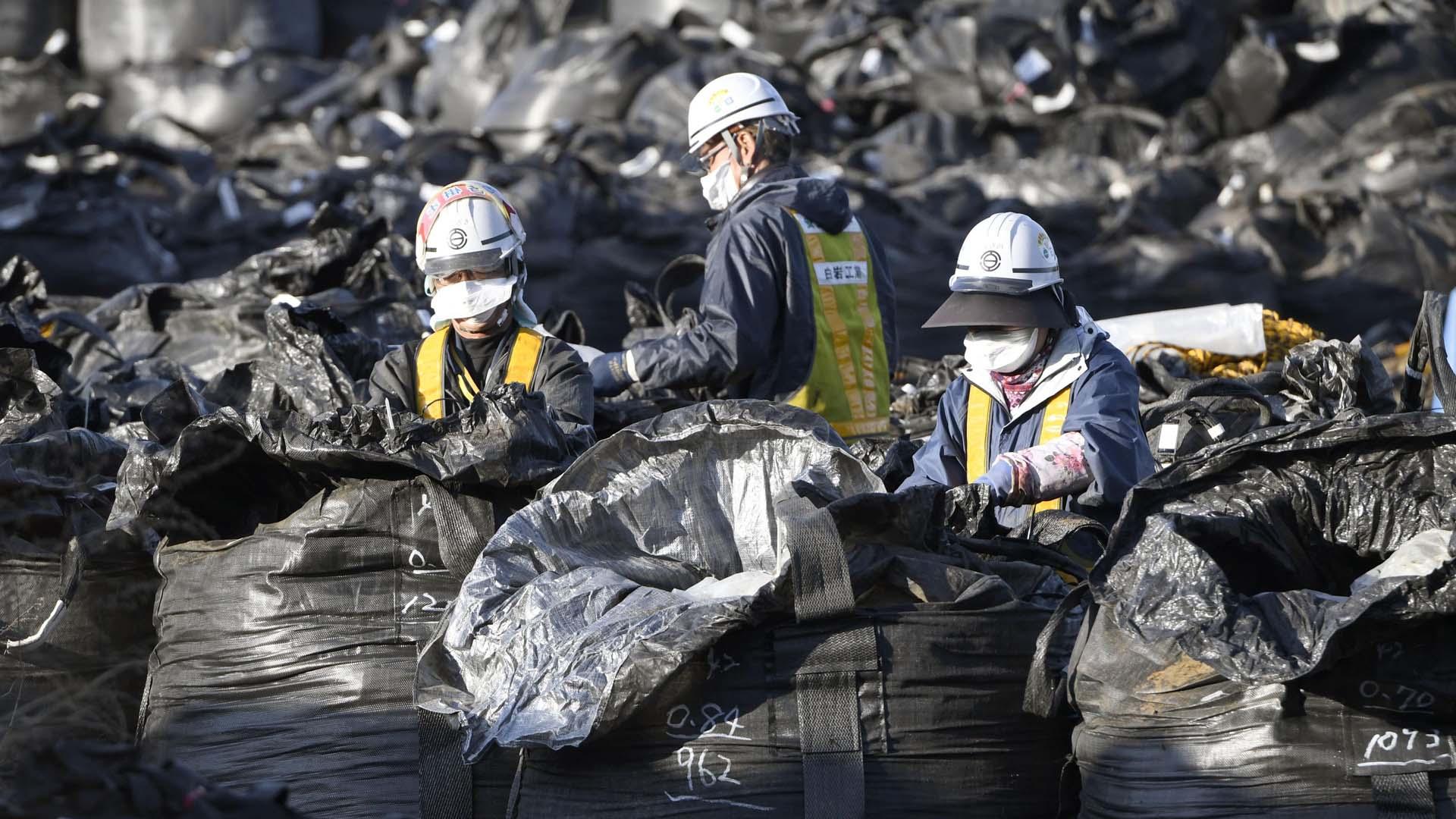 日 방사성폐기물 또 유출…폐기물 자루 빈 채로 발견