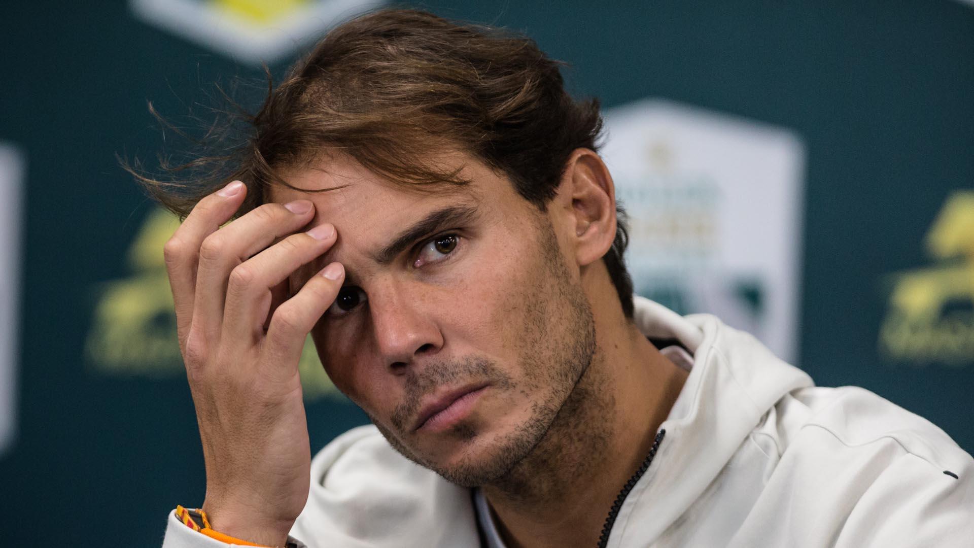 나달, ATP 파이널스 첫 경기서 츠베레프에 0-2 패배