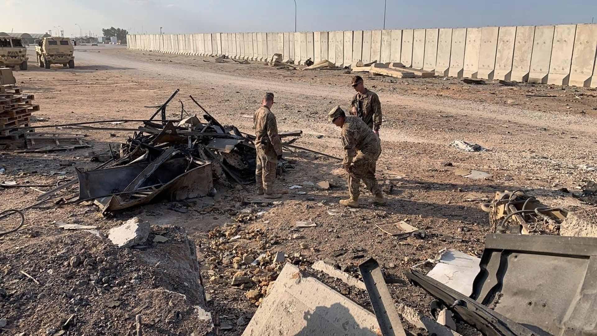 이란 미사일 공격 때 이라크 주둔 미군 최소 11명 뇌진탕