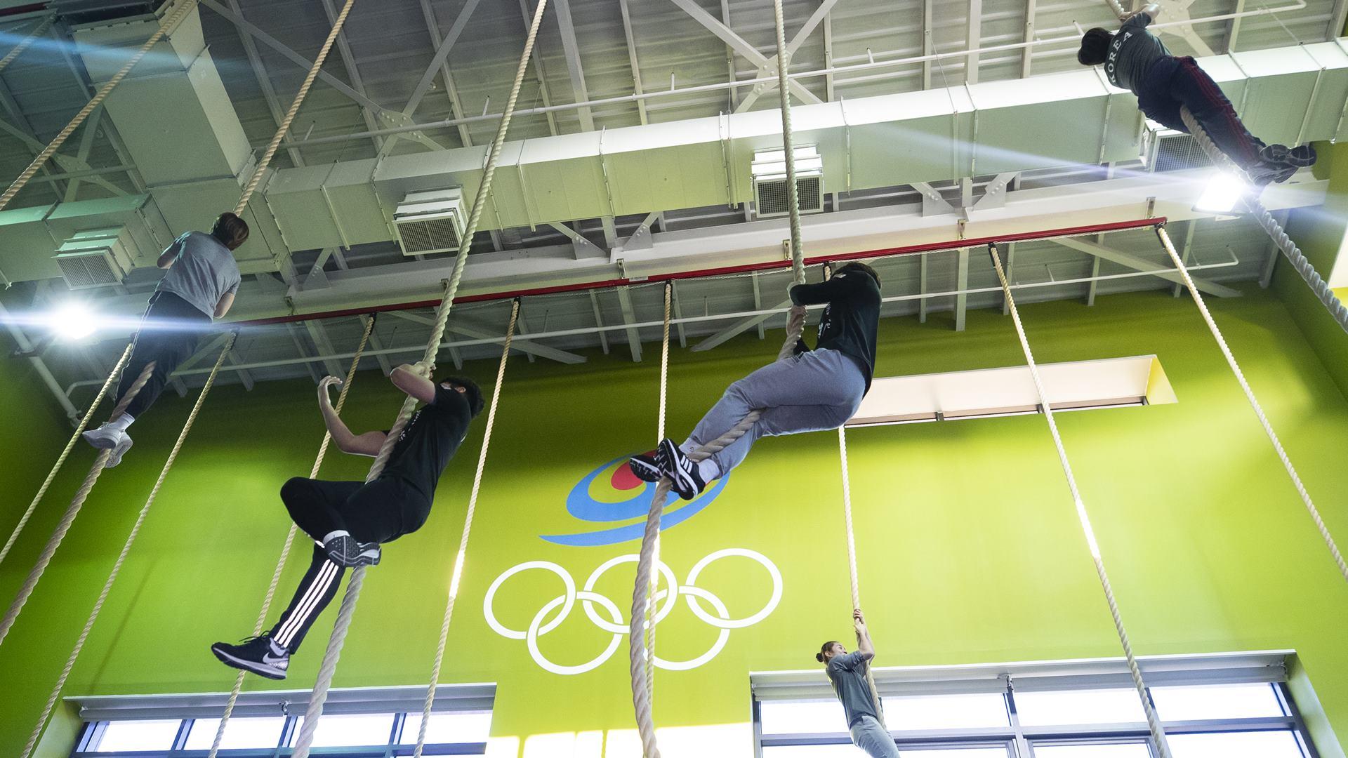 올림픽 향해 뛰는 태극전사들
