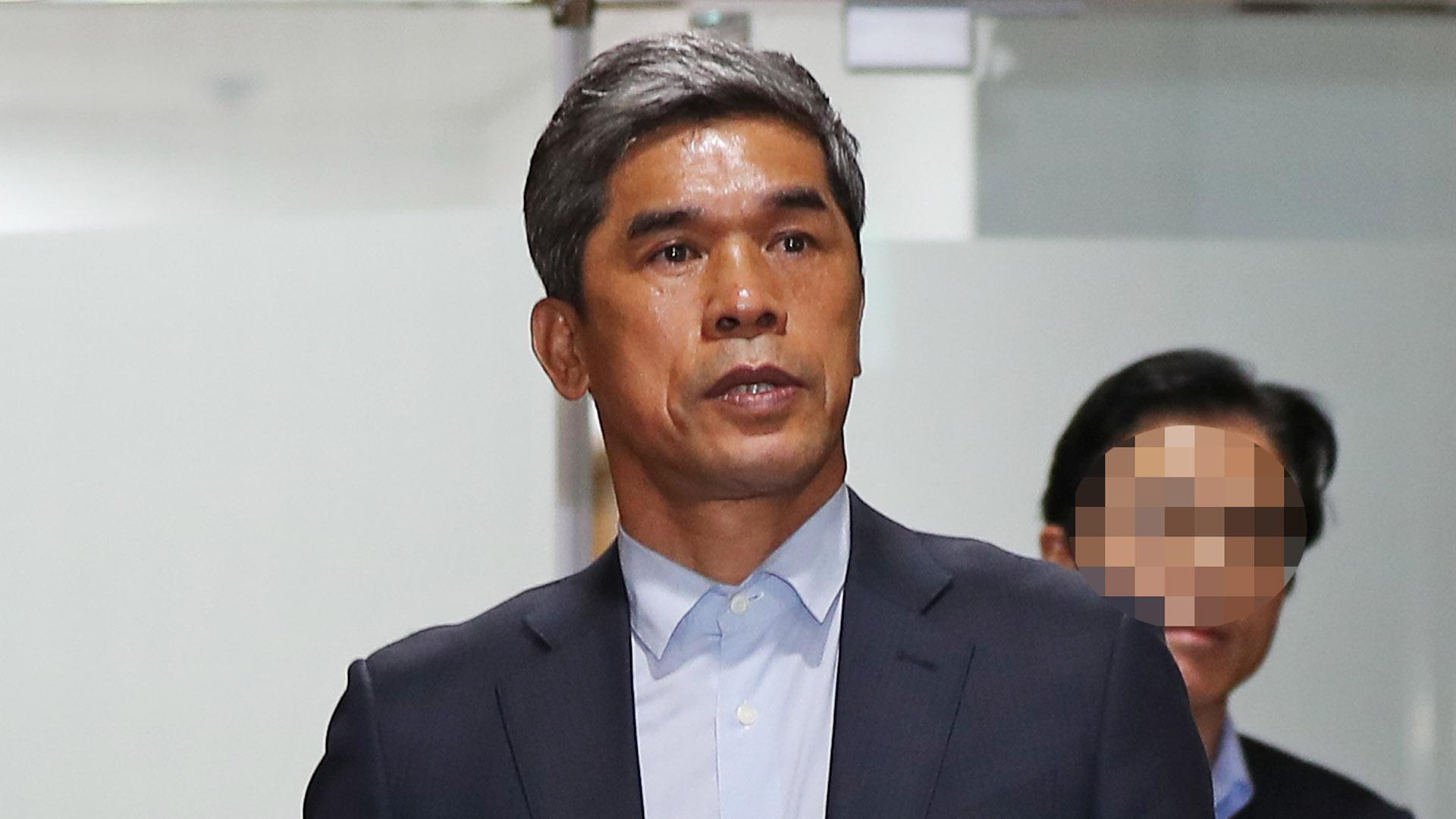 '횡령·성범죄 혐의' 정종선 전 축구감독 송치