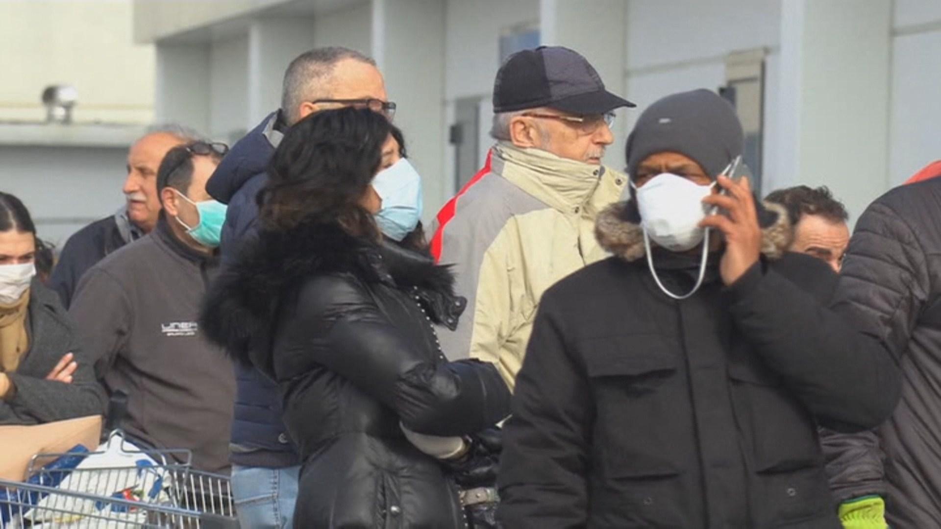 이탈리아서 코로나19 세 번째 사망자 발생…77살 여성