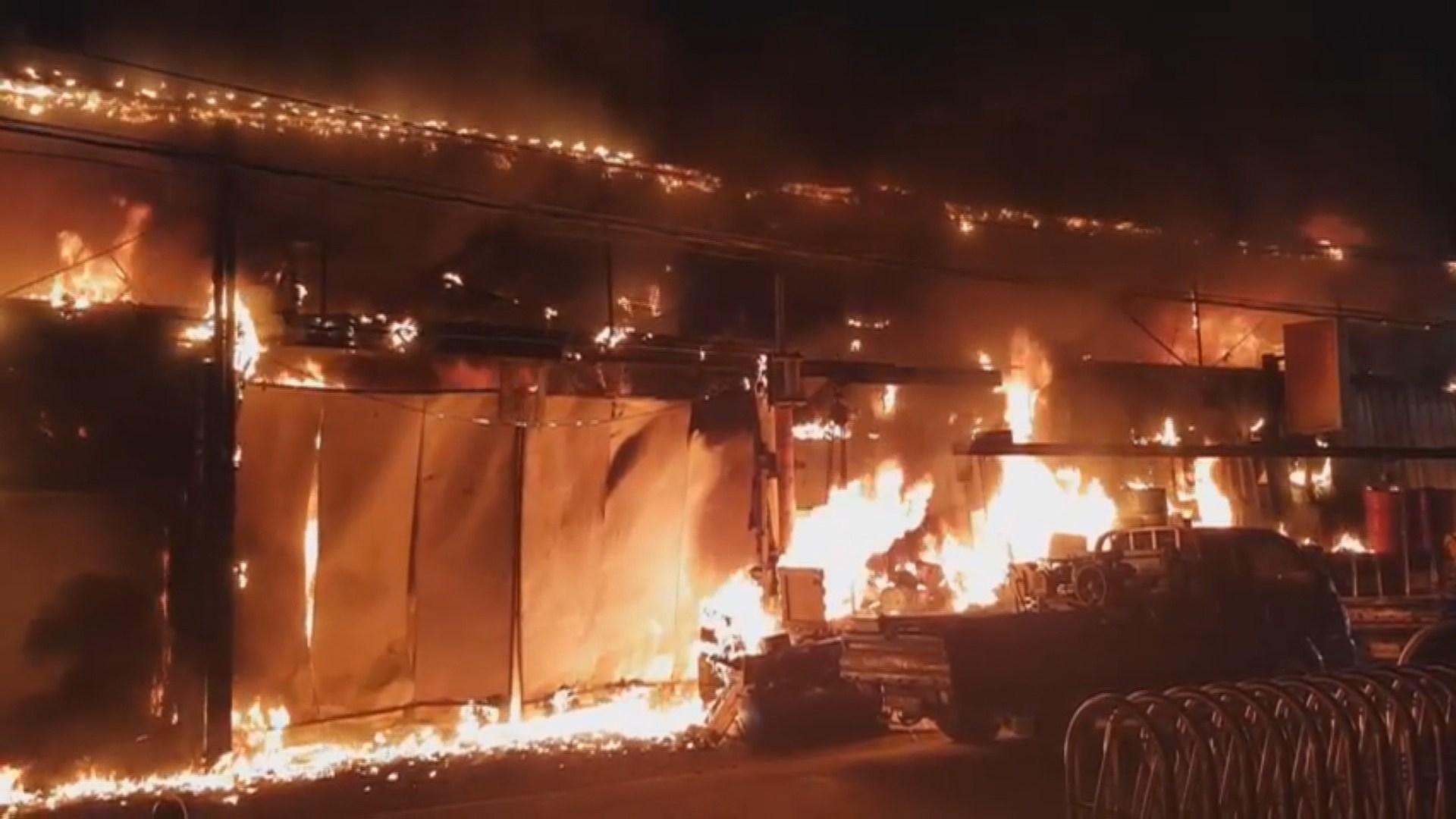 부산 사상구 공장서 불…3,000만원 재산피해