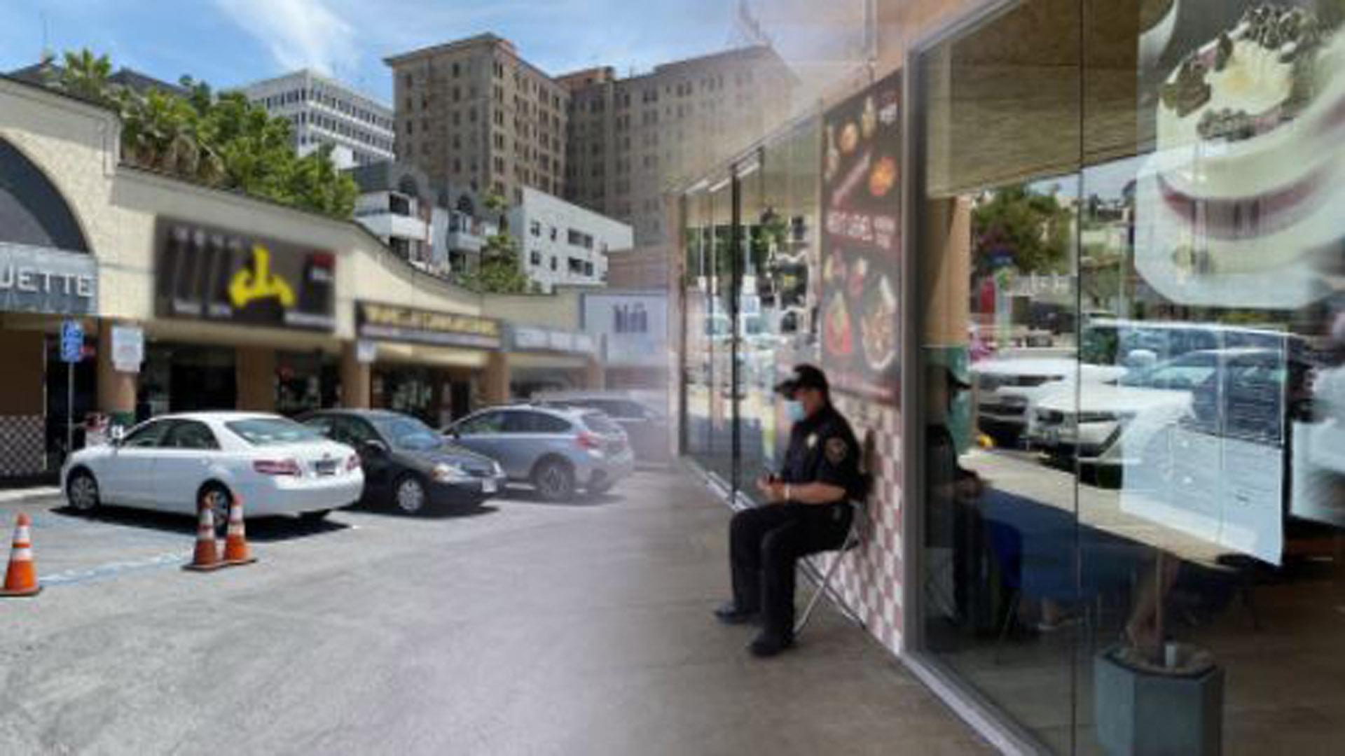 LA <em class='find'>한</em>인타운 일부 상점 피해…주방위군 투입