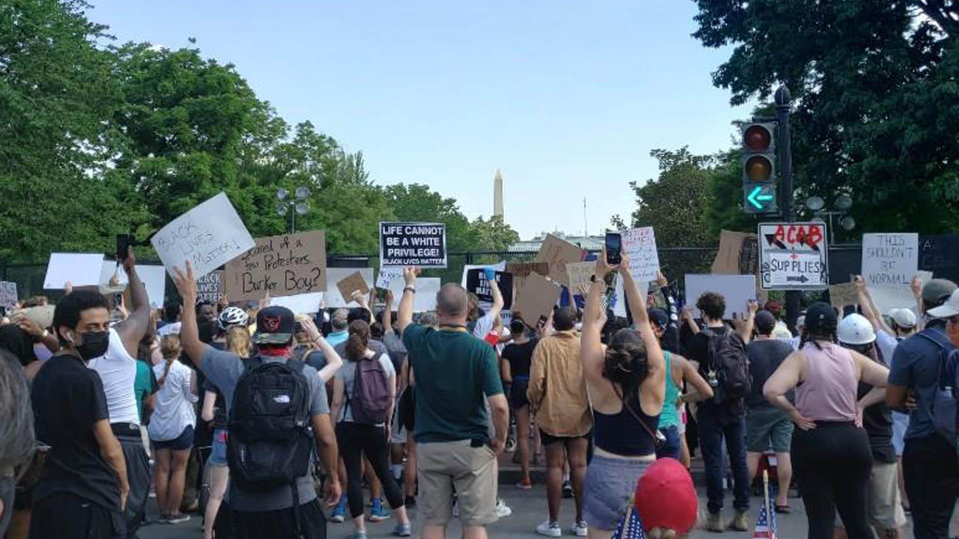美시위 11일째 대체로 평화시위…워싱턴DC 배치 軍 철수 시작