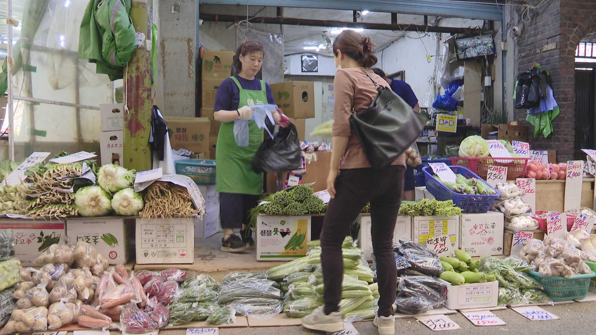 '동행세일'에도…시장·소상인 체감경기 두 달째 악화