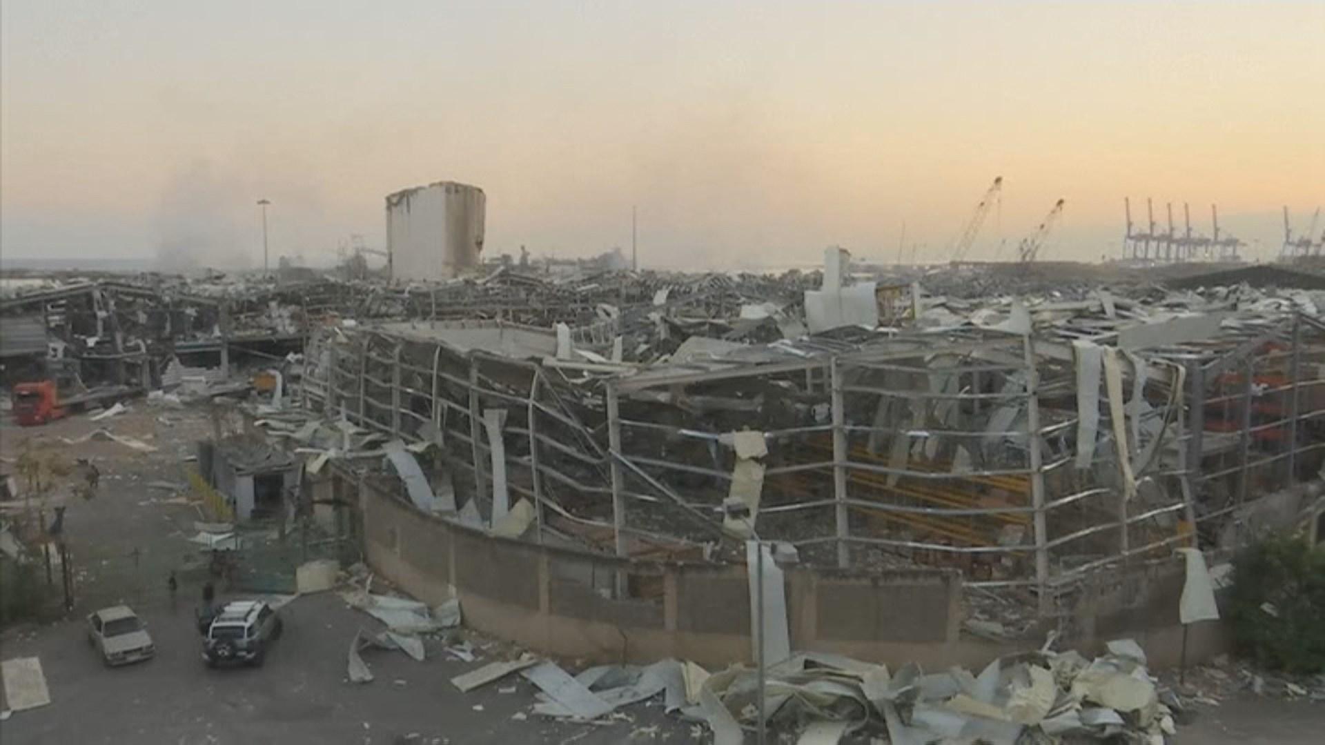 베이루트 폭발참사로 30만명 갈 곳 잃어…도시절반 피해