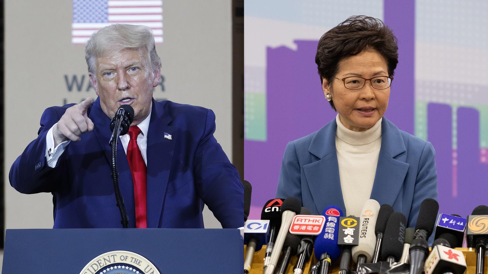 美, 홍콩 행정장관 제재…미중 갈등 전방위 확산