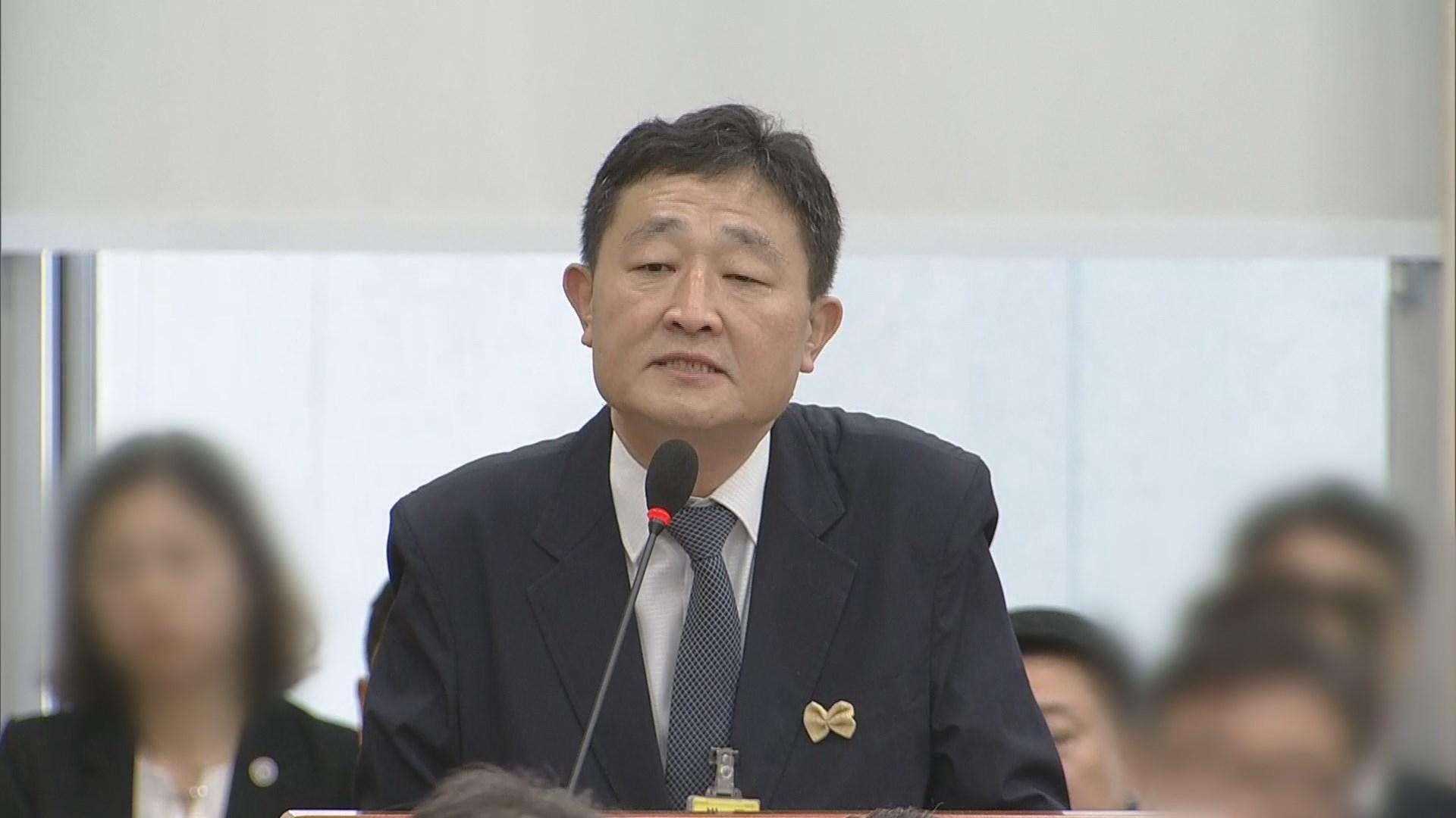 '납품청탁 의혹' 운동권 출신 허인회 구속