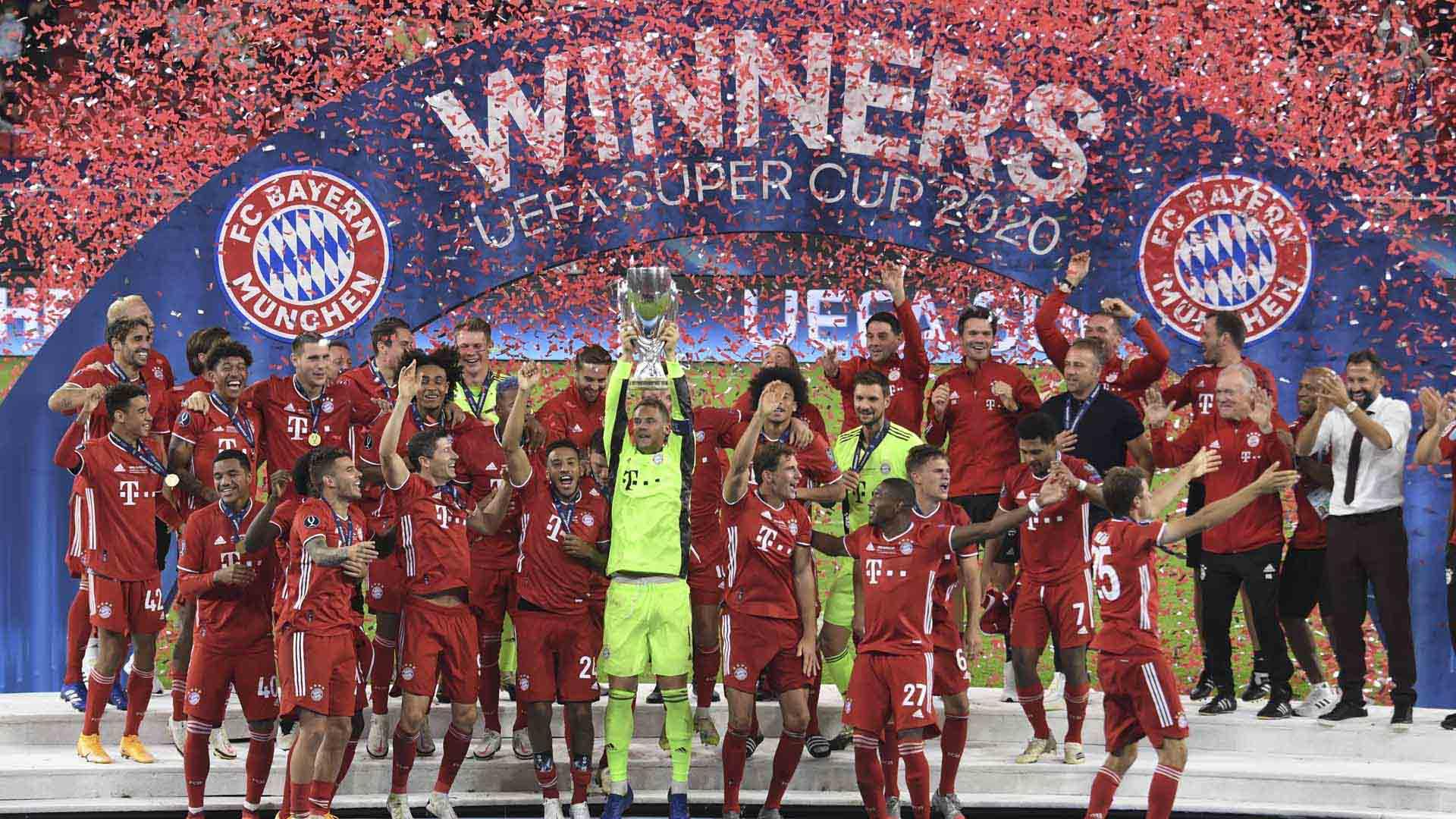 [해외축구] 뮌헨, UEFA 슈퍼컵 우승…세비야에 2-1 역전승