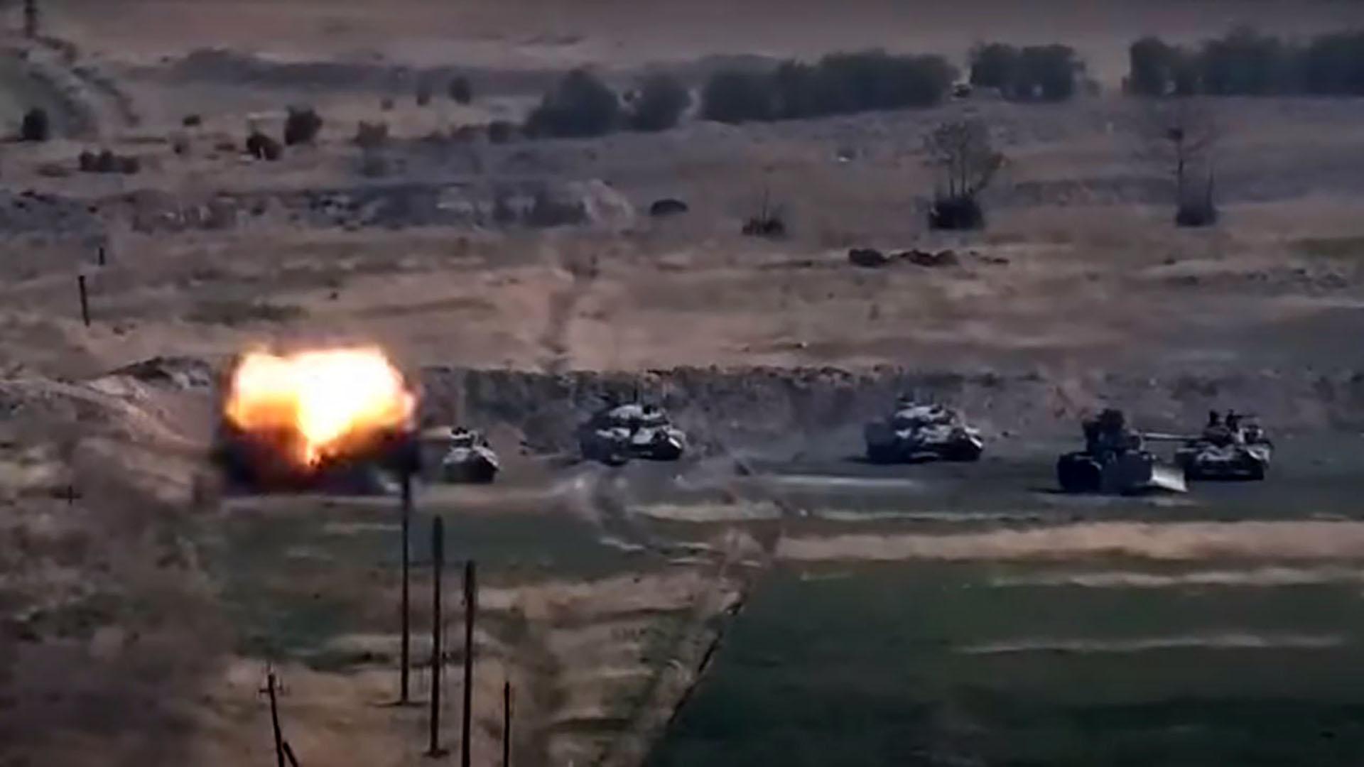 아제르바이잔·아르메니아 무력 충돌…전면전 치닫나