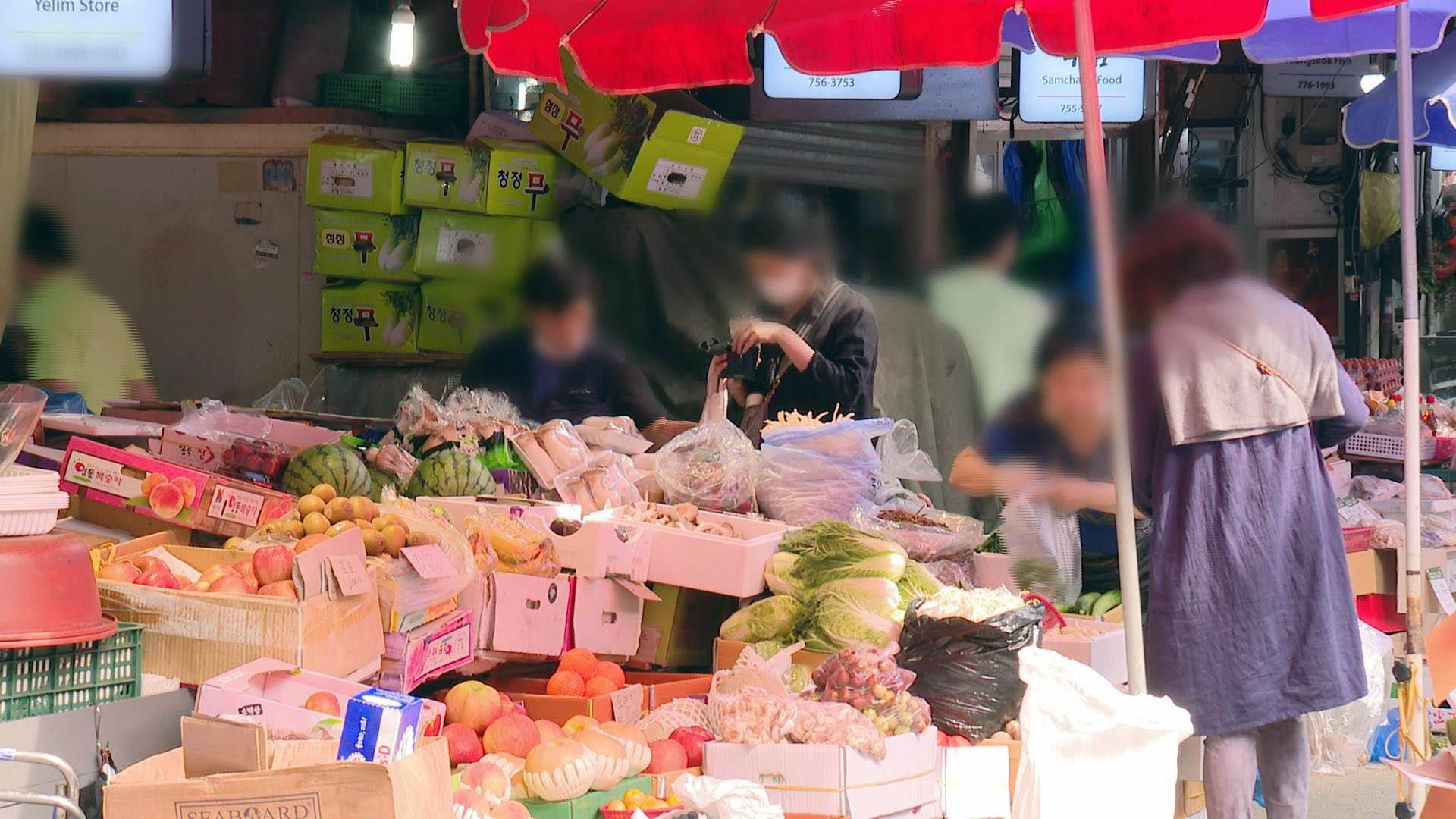 추석 대목 방역 고삐…전통시장엔 한숨 가득