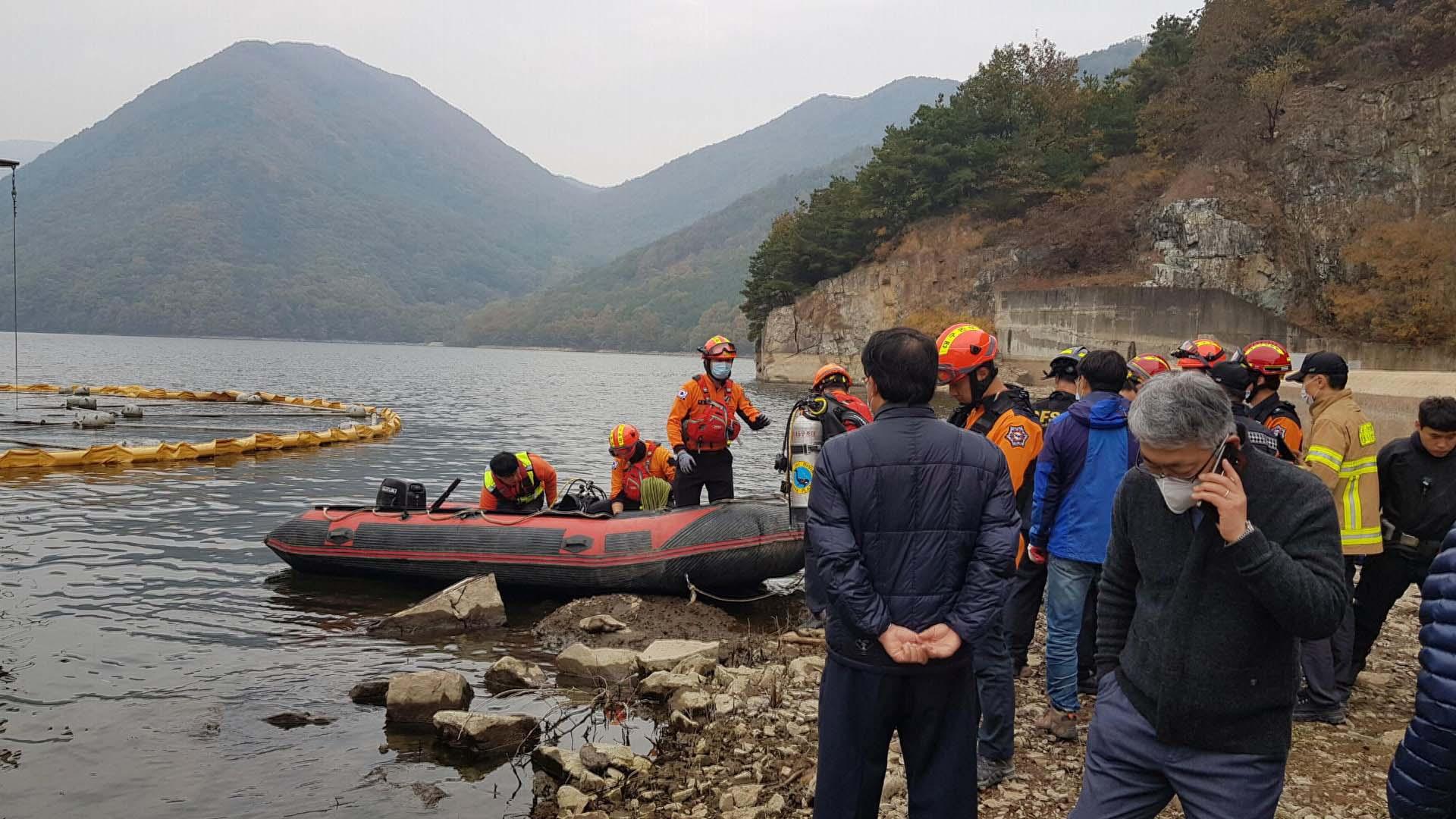 대구 가창댐 수중탐사 잠수사 1명 실종…수색 작업