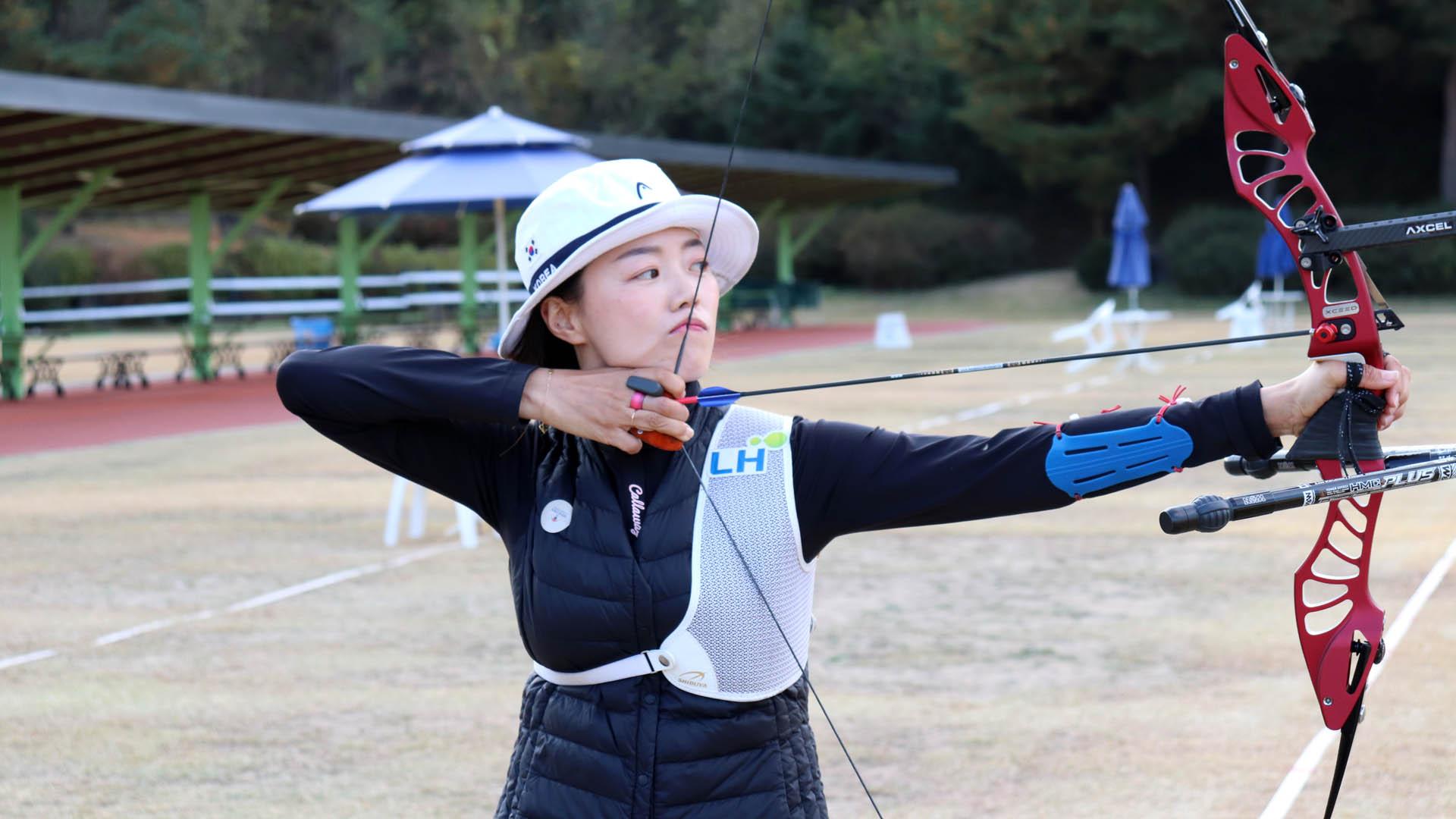 '리우 2관왕' 장혜진, 도쿄올림픽 대표선발 2차전 1위