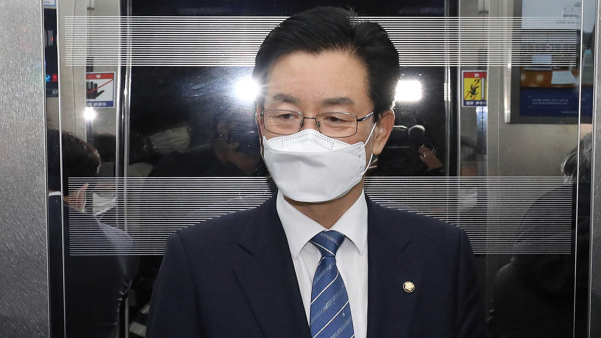 법원, '체포동의 가결' 정정순 의원 체포영장 발부