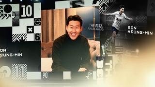 손흥민 '2020년 아시아 최고의 선수'