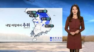 [날씨] 내일 낮 추위 풀려…서쪽 미세먼지 '나쁨'