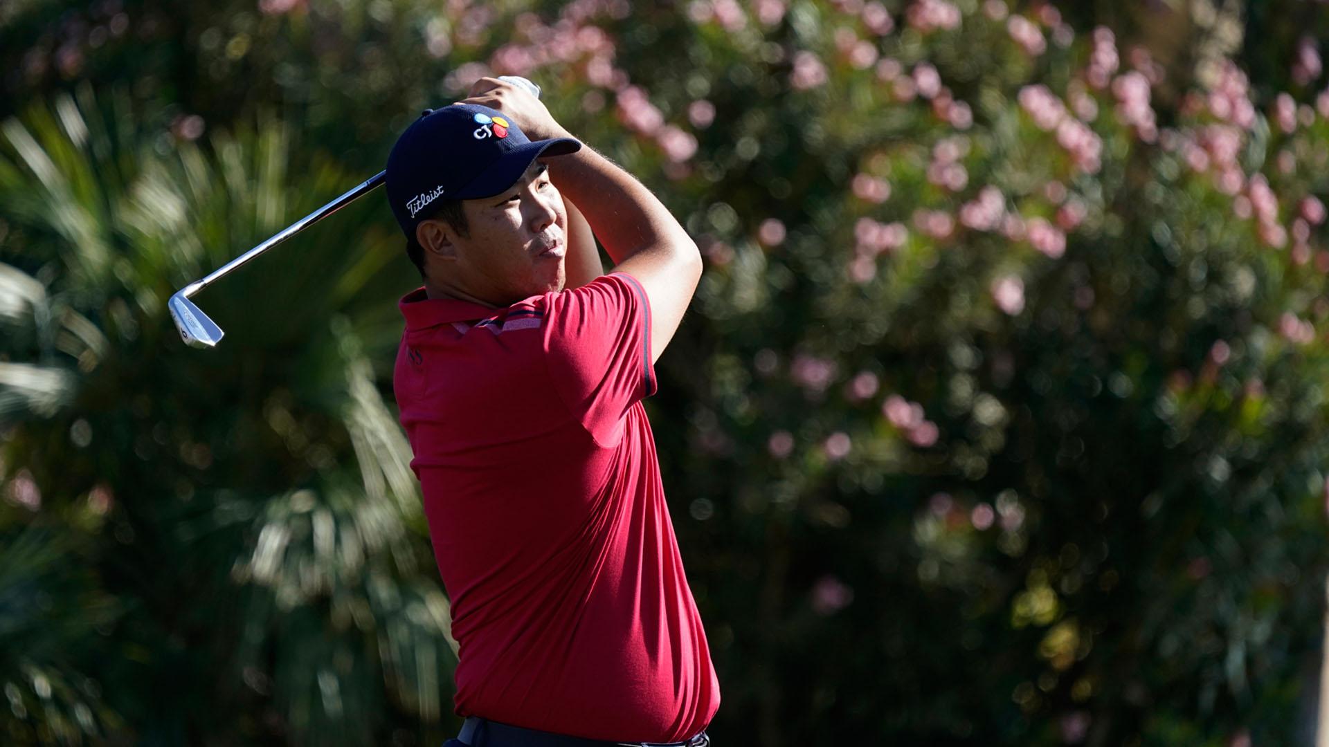 안병훈, PGA 아메리칸 익스프레스 첫날 2위