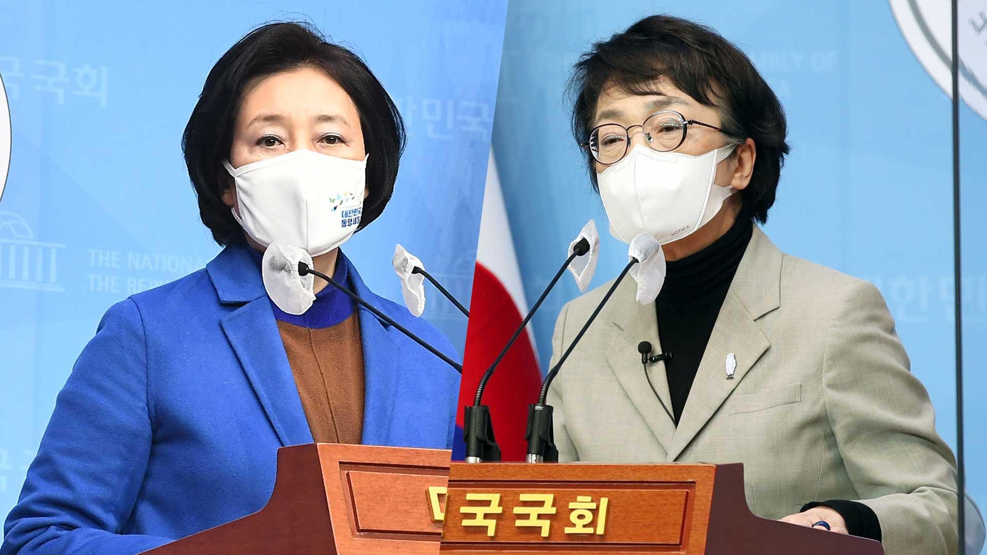 박영선, 조정훈에 승리…김진애와 최종 단일화 협상