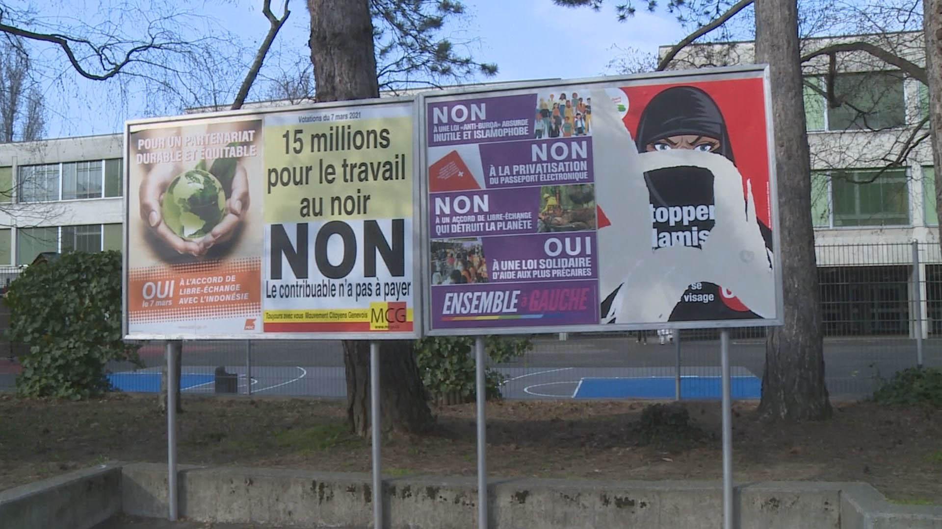스위스서도 공공장소 부르카·니캅 착용 금지