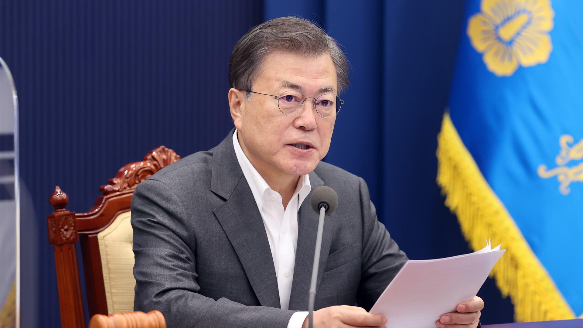 문대통령, 다음주 방역·경제 긴급 점검회의 주재