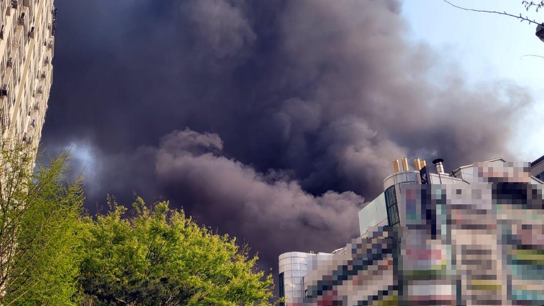 경기 남양주 다산동 주상복합서 불…대응 2단계