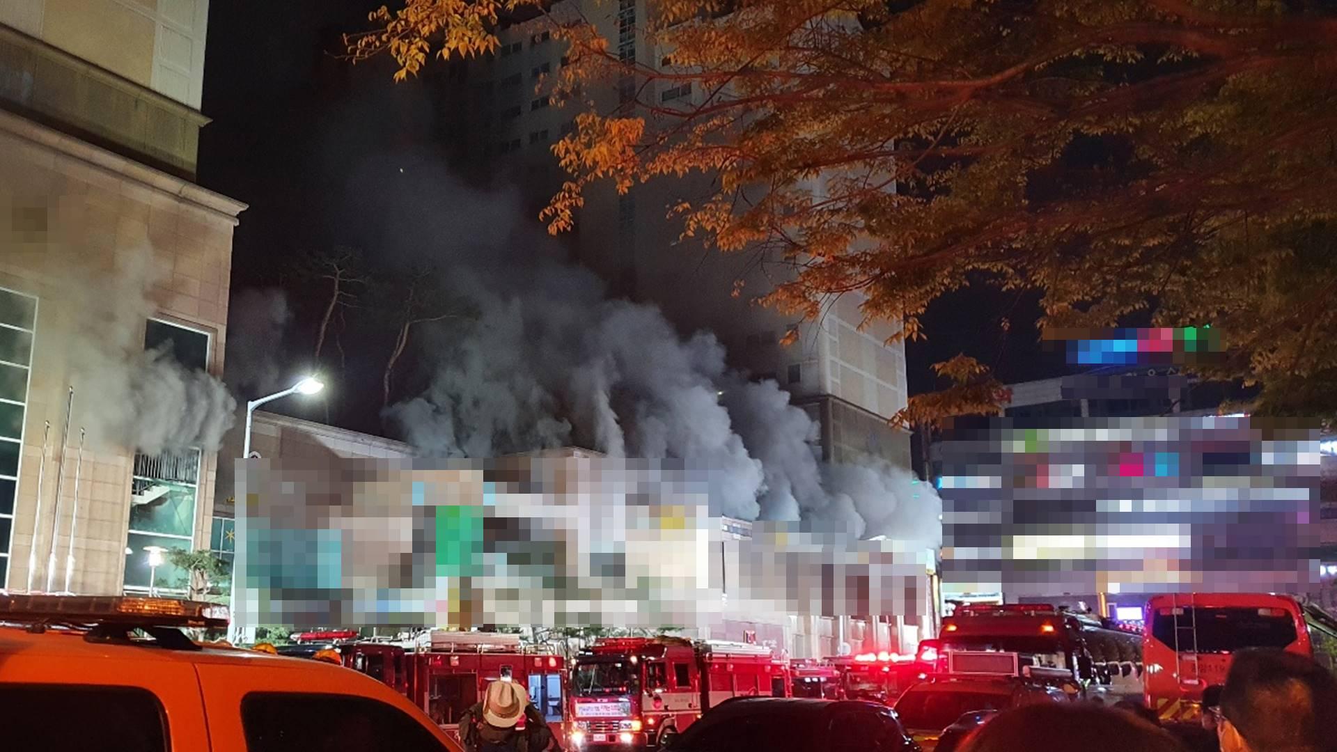 남양주 주상복합 화재…250명 대피·38명 연기흡입