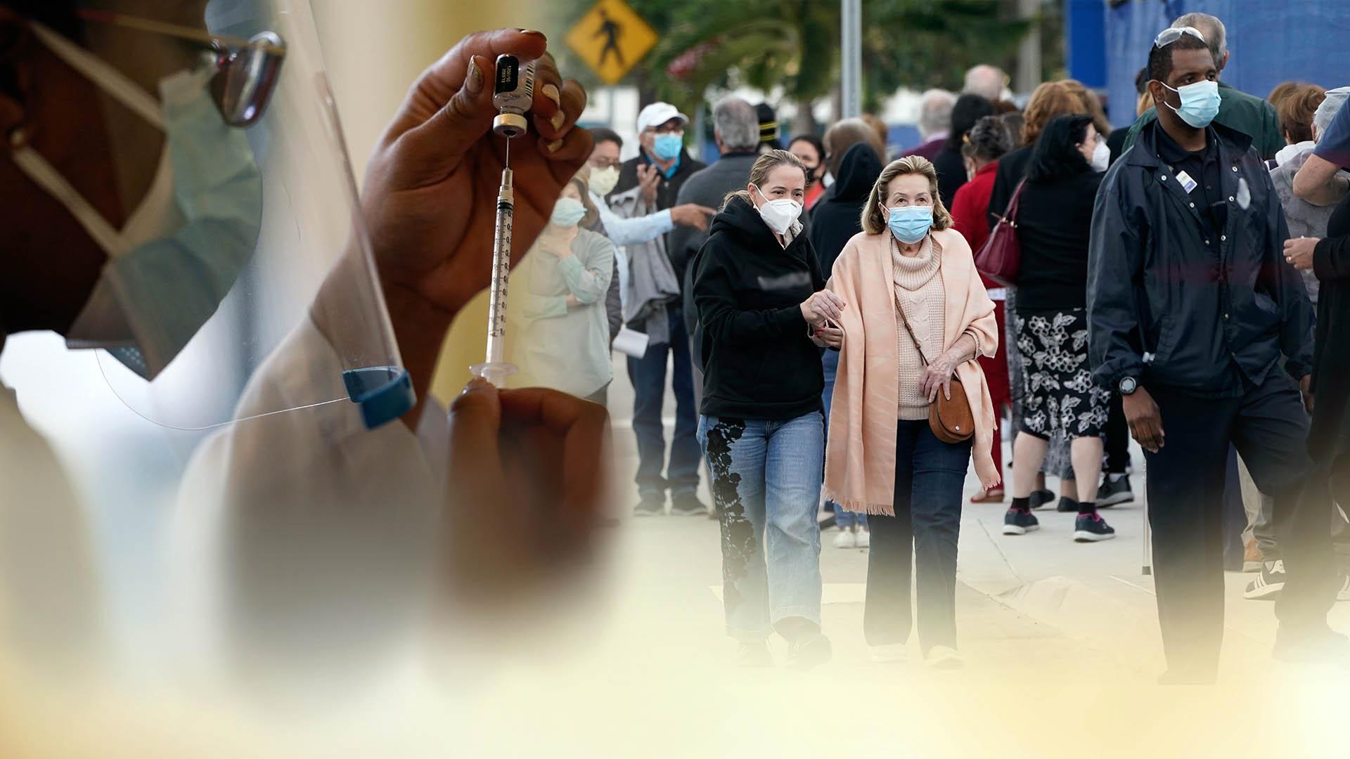 美 속도내는 코로나 접종…성인 절반 최소 1회 접종