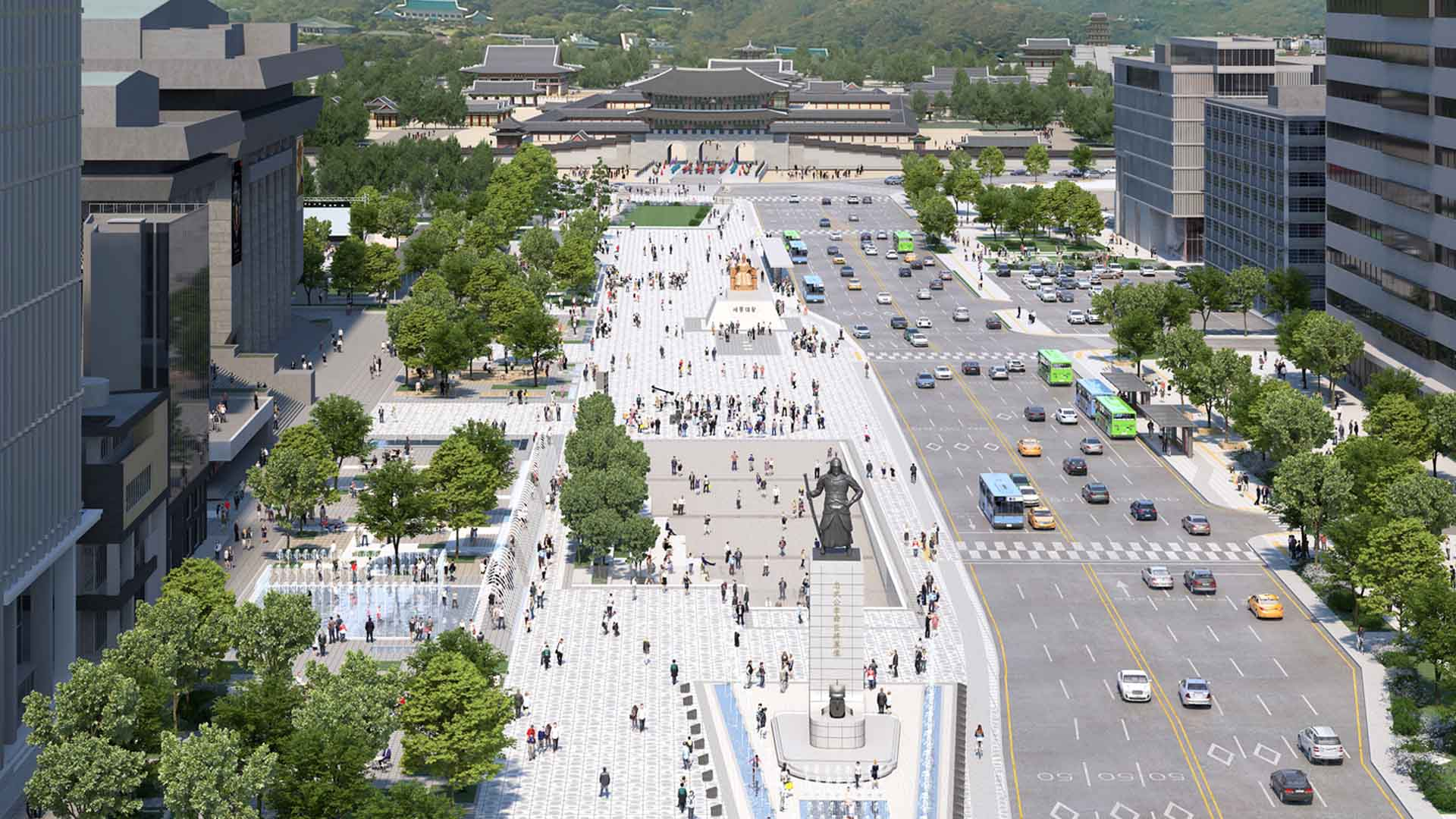 광화문광장, 내년 4월 시민 품으로…