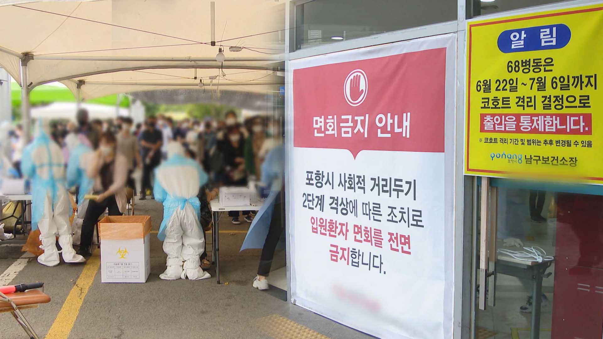 대전서 알파 변이 집단감염…포항 종합병원 동일집단 격리