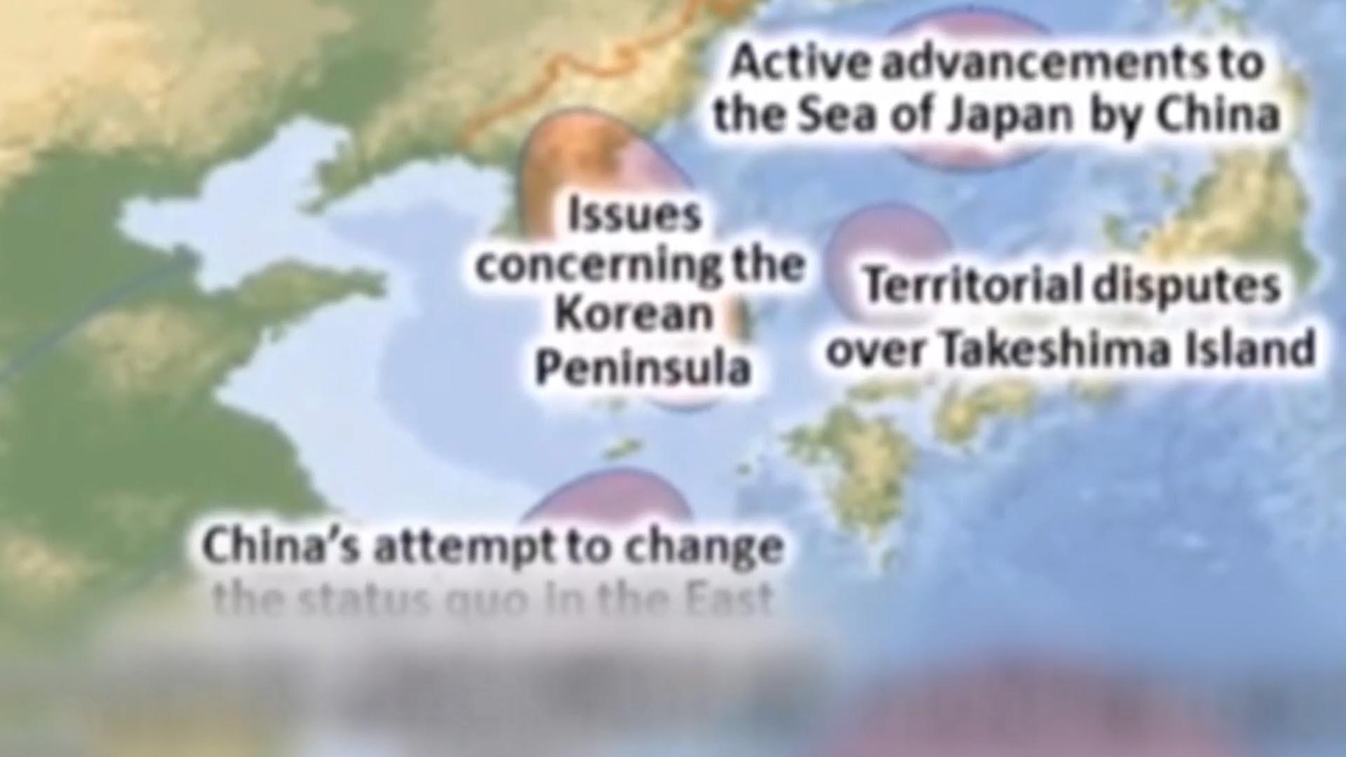 정부, 日자위대 영상 '독도=영토분쟁' 표기에 항의