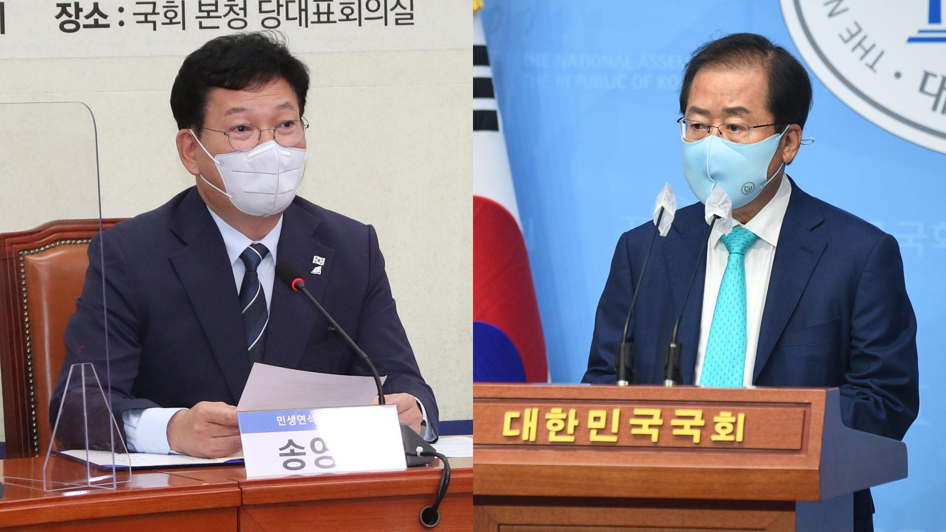 與, 경선일정 막판 조율…野, 홍준표 복당 의결