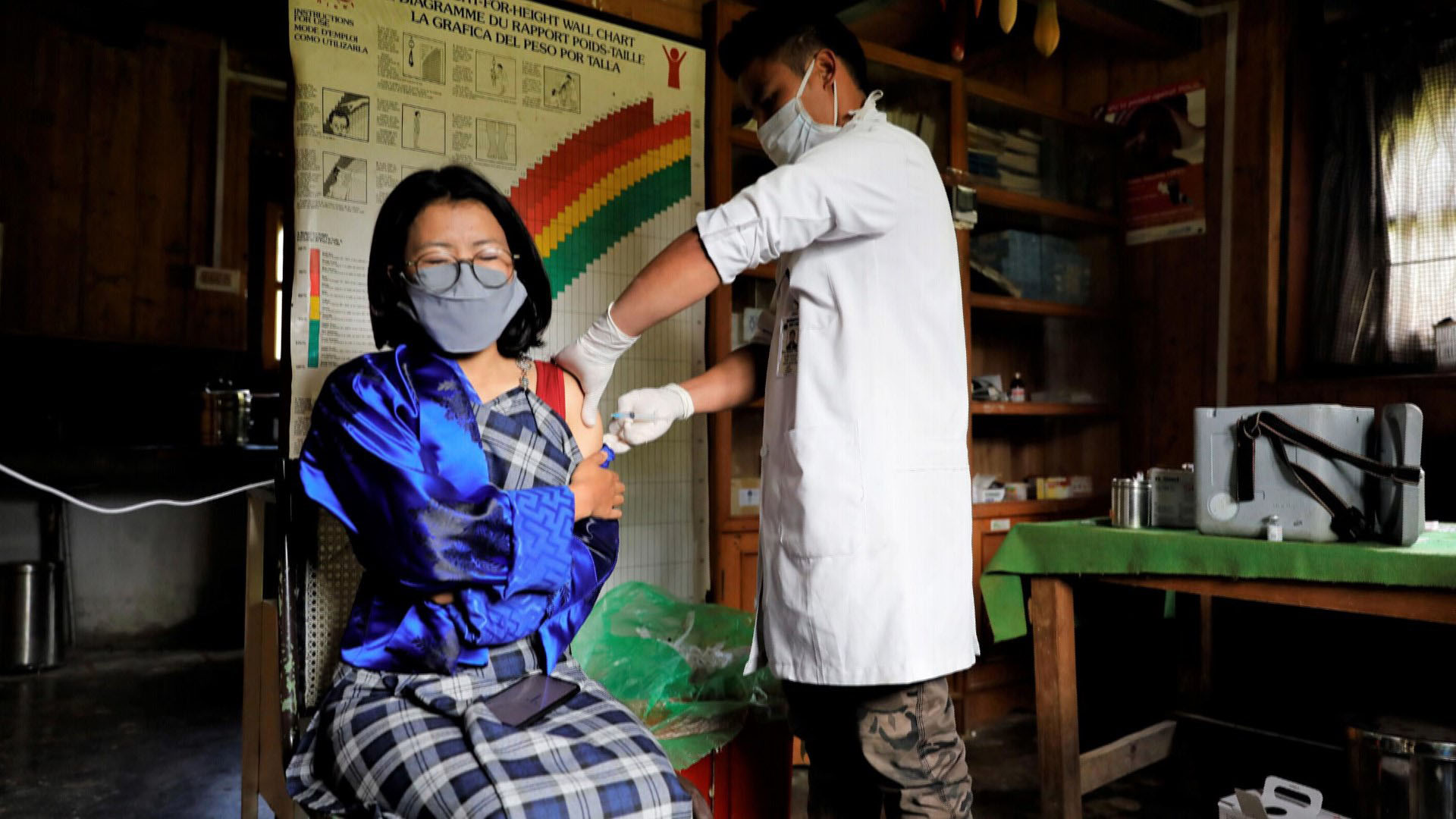 부탄의 놀라운 백신 접종…