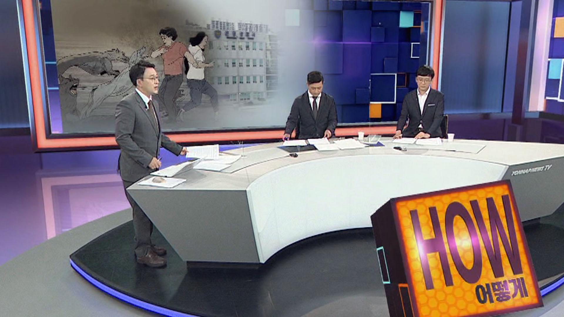 [사건큐브] 산책하던 모녀, 사냥개 6마리 습격에 중태