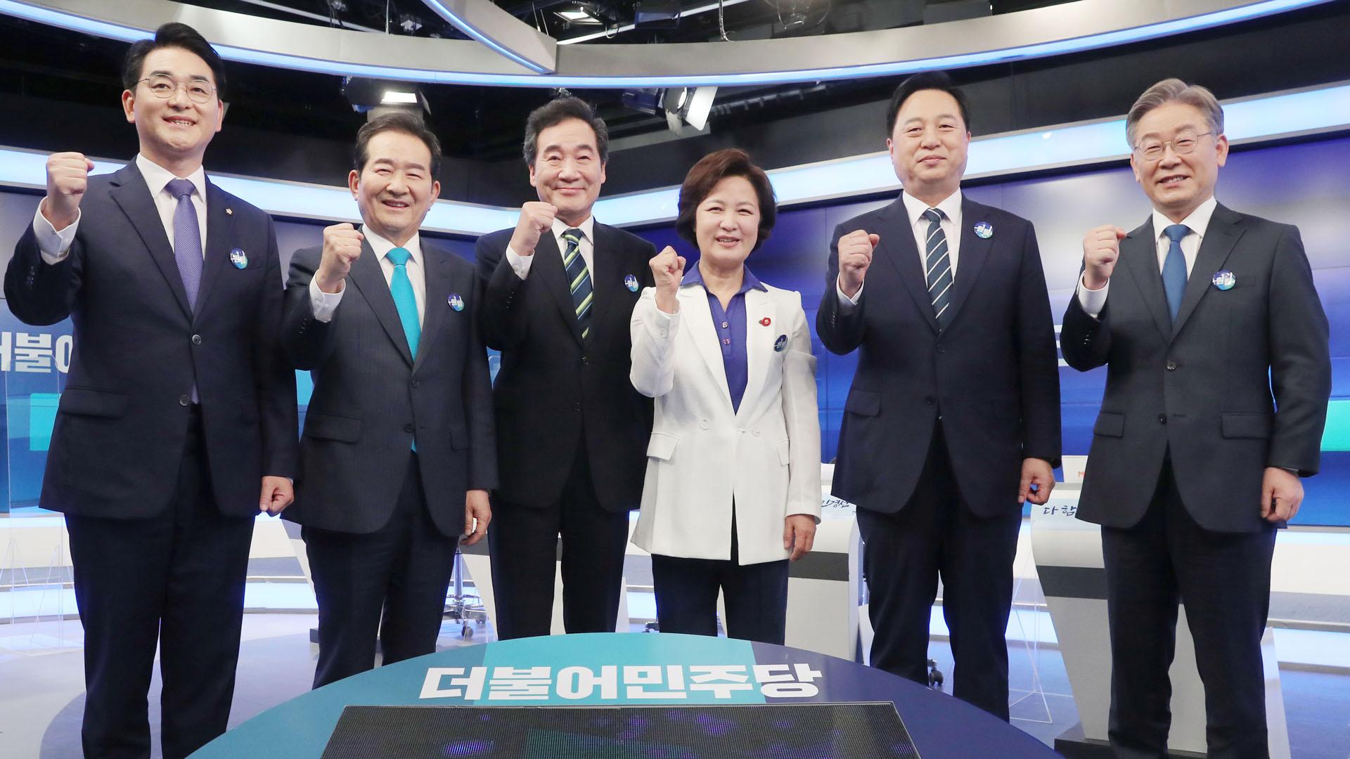 이재명·이낙연, TV토론서 또 충돌…野 '친윤-반윤' 격돌