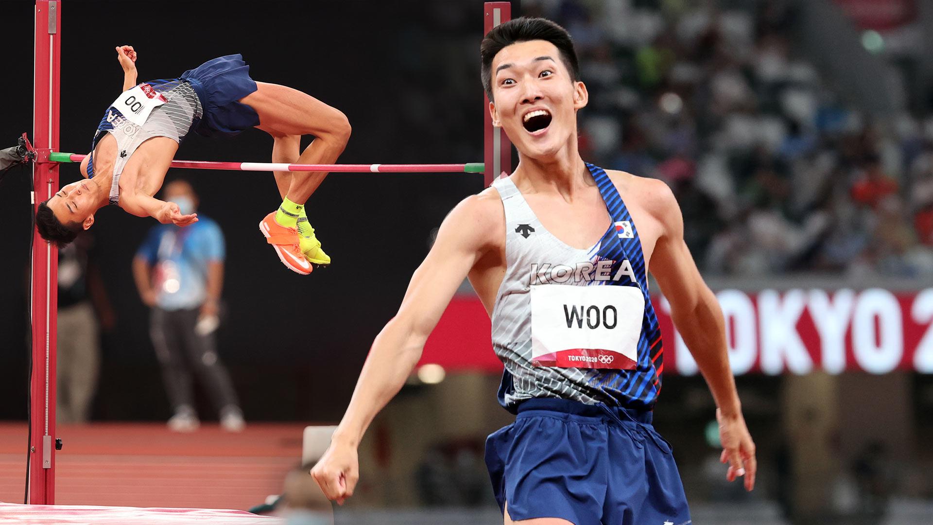 메달보다 값졌다…높이뛰기 우상혁 한국 신기록으로 4위