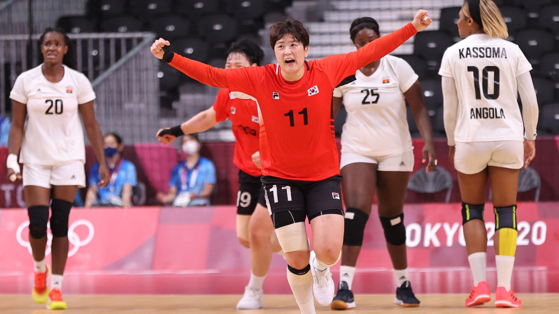 여자 핸드볼, 앙골라와 무승부…8강행 불씨 살려