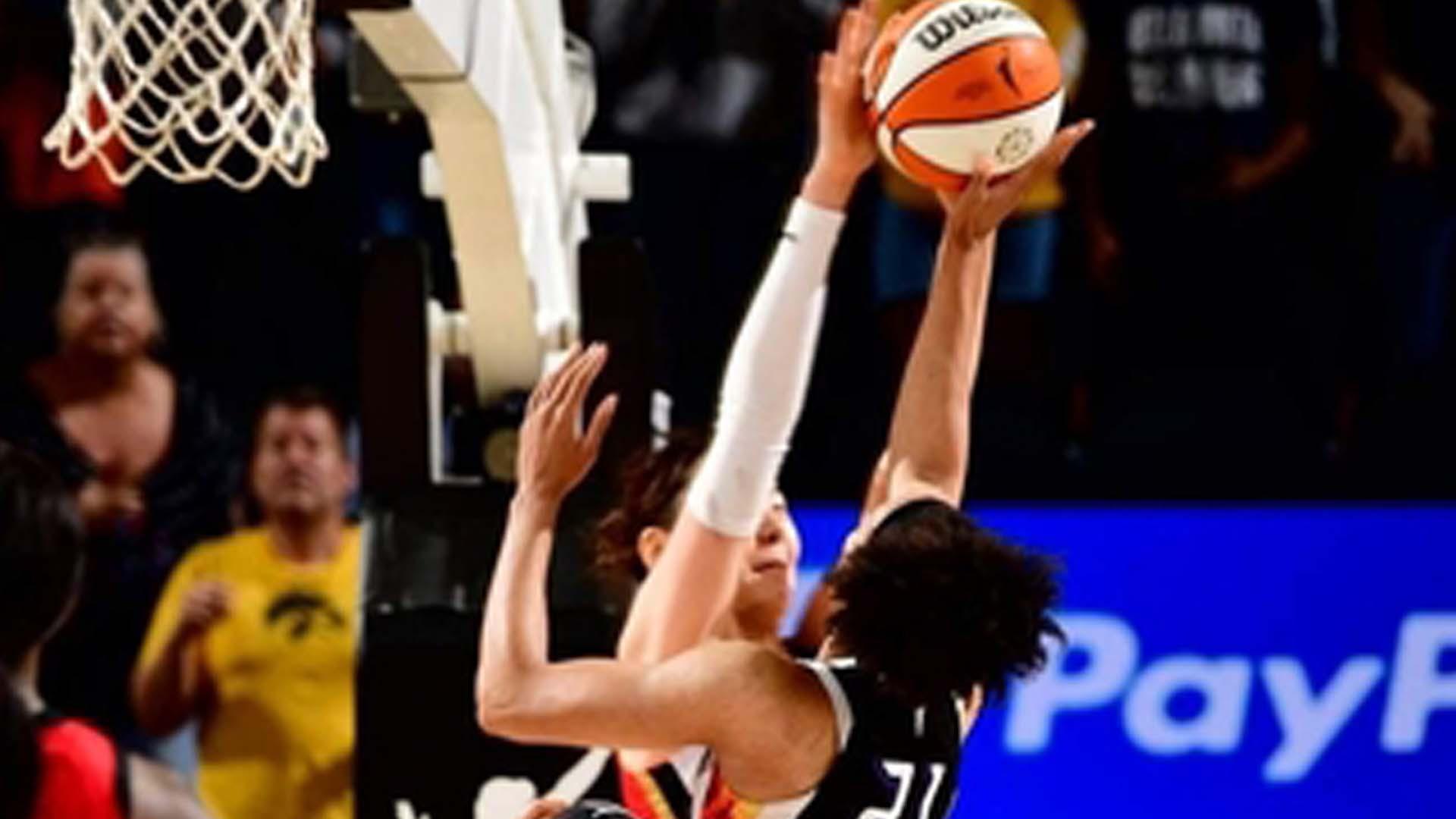 박지수 결정적인 블록슛…WNBA 오늘의 장면 선정