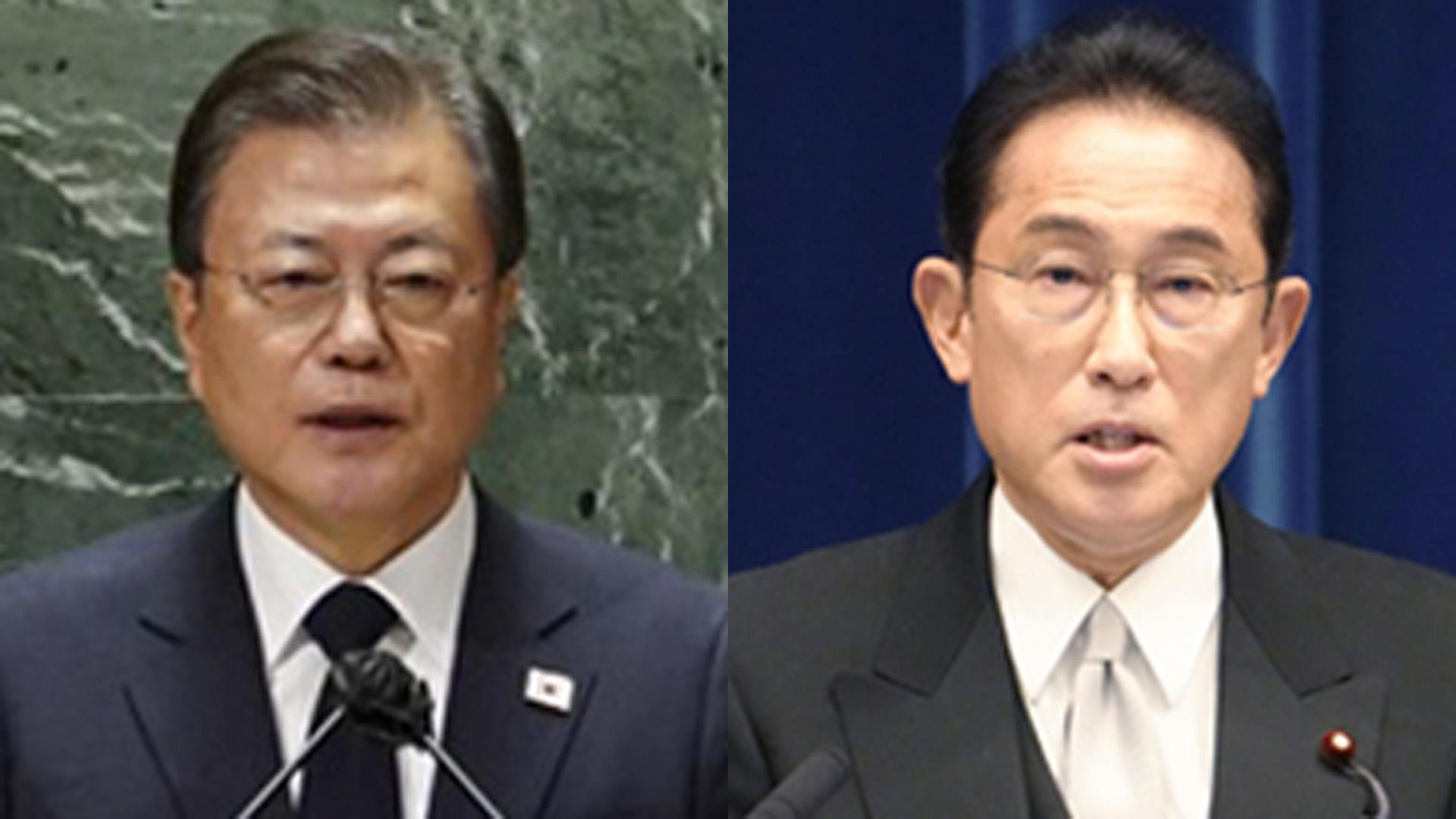 [속보] 문대통령, 기시다 일본 총리와 첫 통화