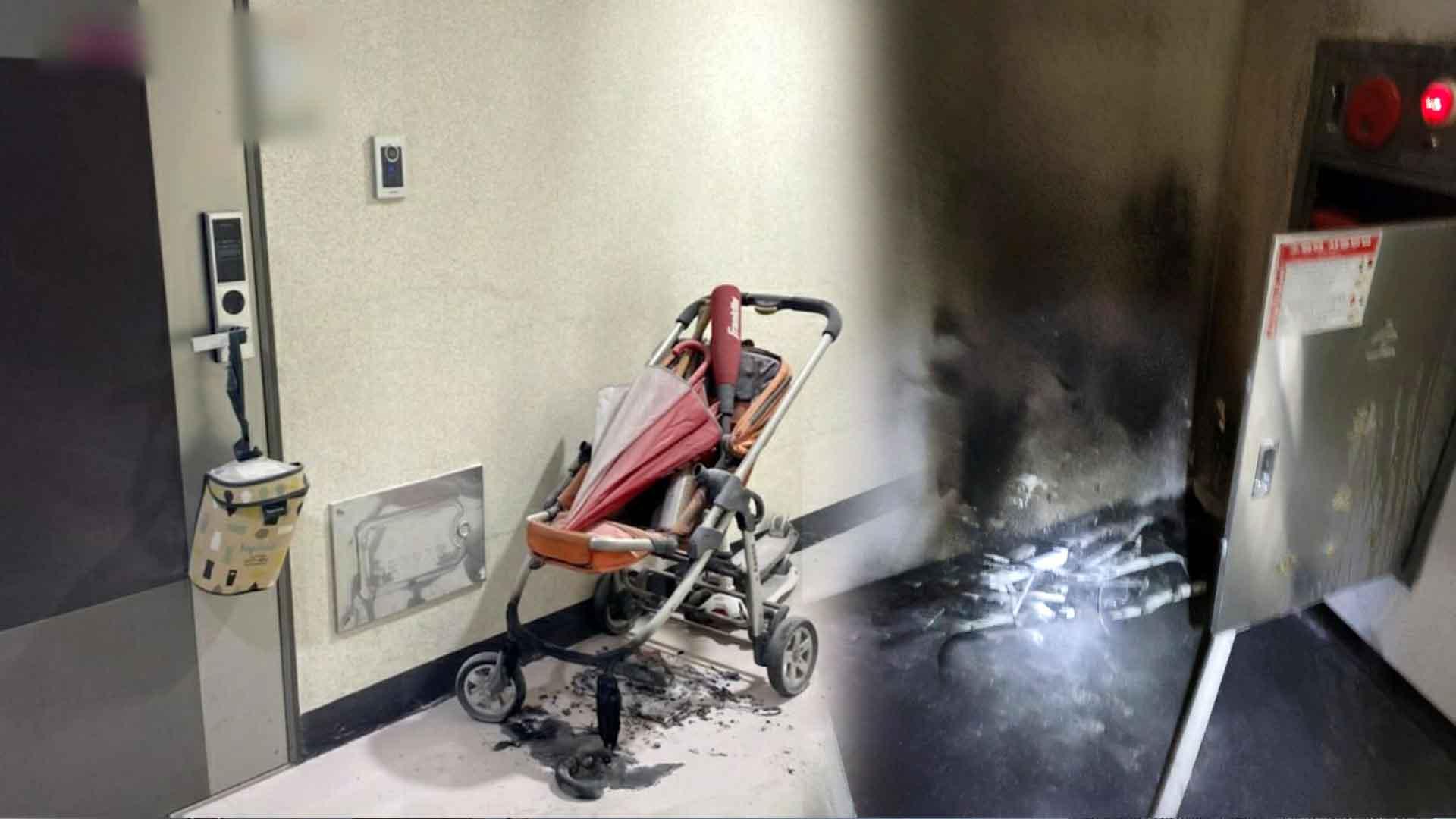 부산 아파트 복도 방화 추정 화재…주민 옥상 대피