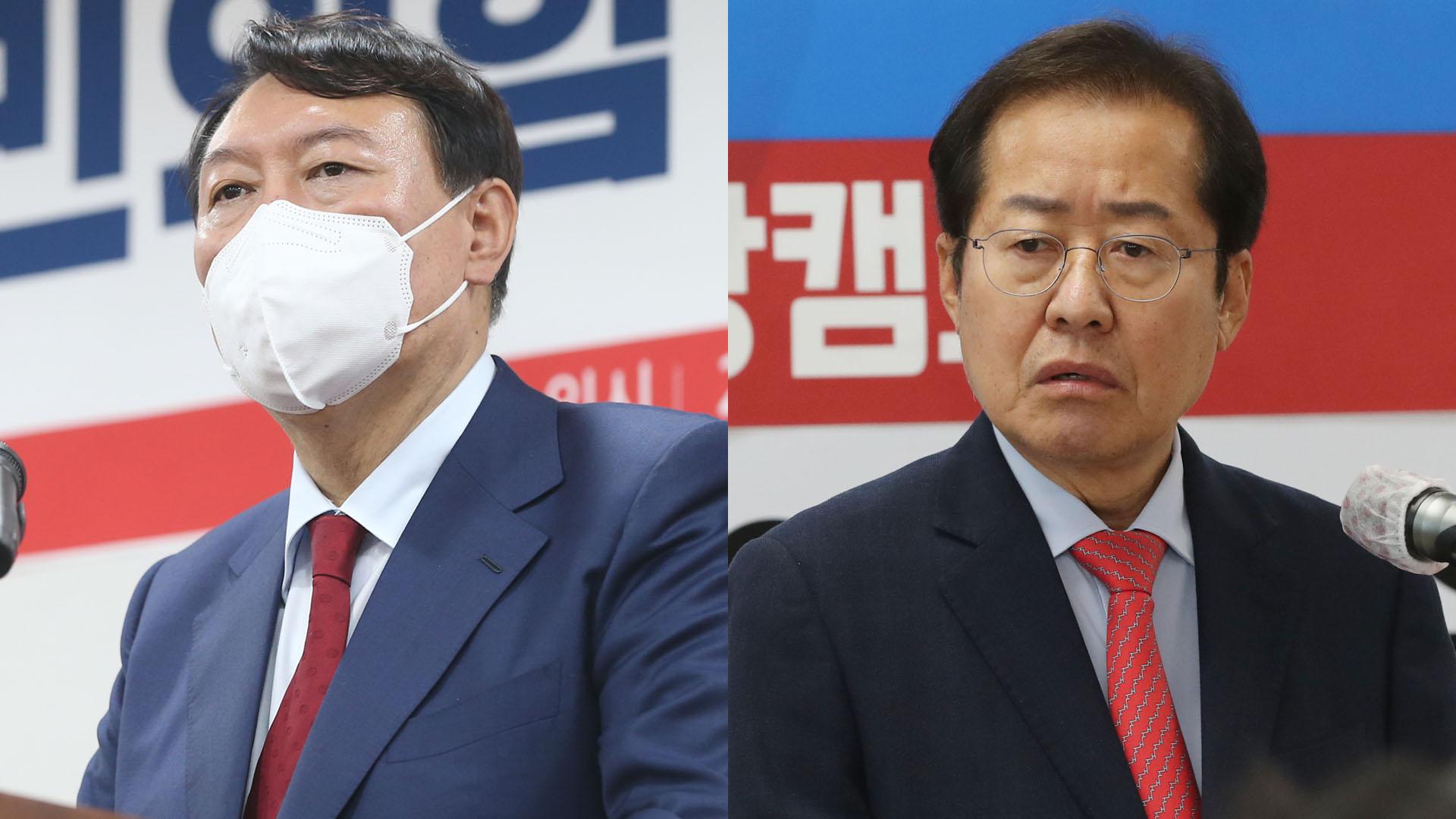 윤석열 '개 사과' 후폭풍…홍준표