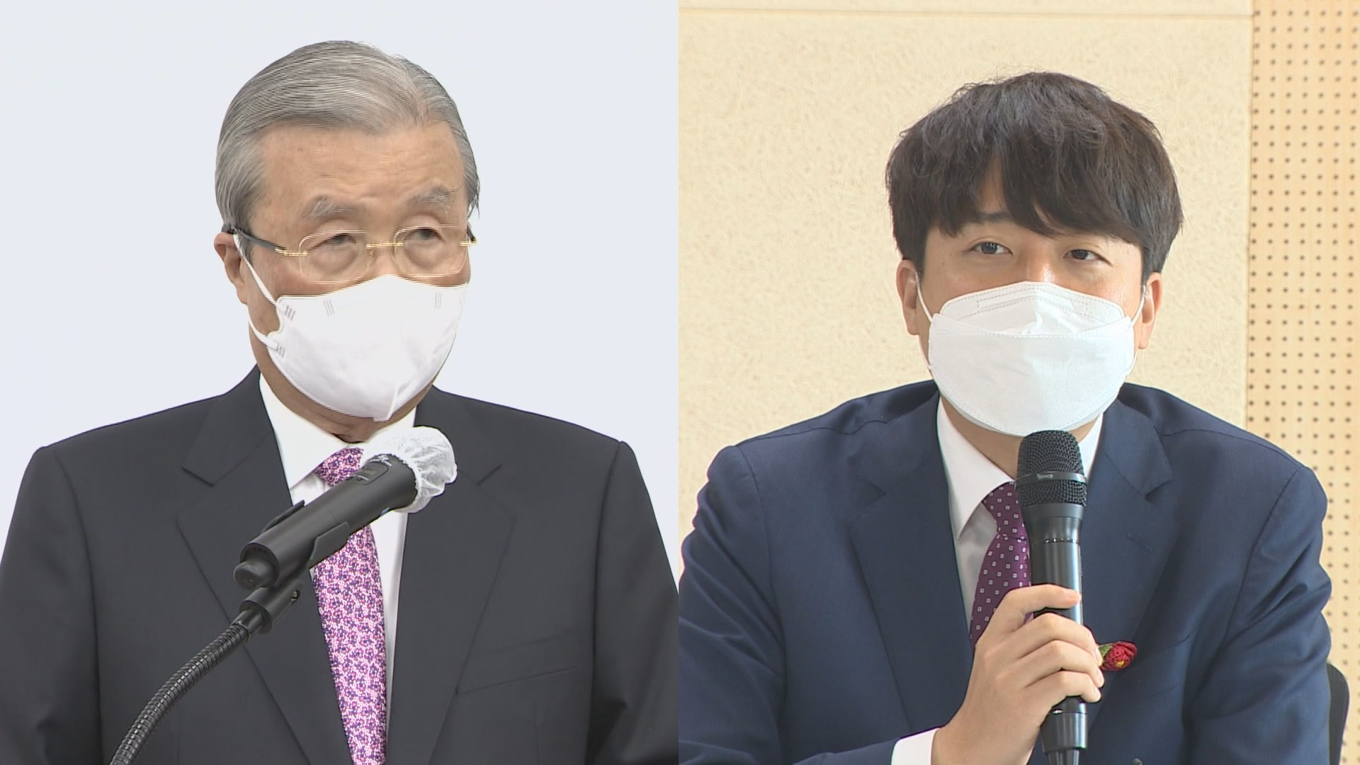 '킹메이커' 김종인, 오늘 이준석과 회동